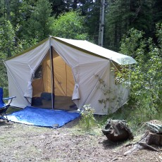 cascade canvas tent