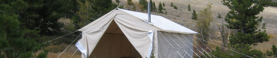 Wall Tent Fly & Wall Tent Fly - Reliable Tent and Tipi
