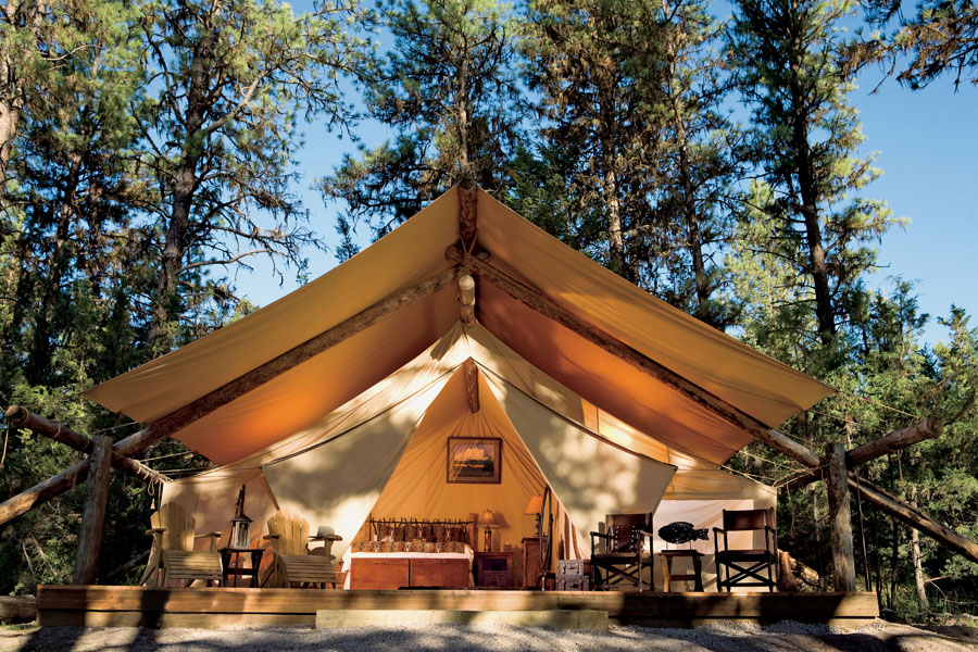 Gl&ing & Glamping - Reliable Tent and Tipi