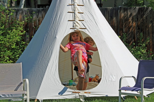 The backyard tipi reliable tent and tipi for Reliable tipi
